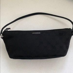 Small Gucci Pochette Logo Bag